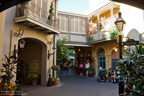 New Orleans Square At Disney Character Central