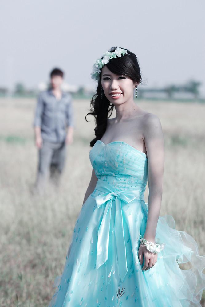 素人婚紗寫真模樣