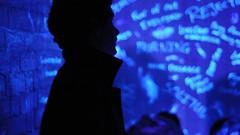 Cell of Fears (Greg Annandale) Tags: street game halloween dark bristol nikon october shadows ripple follow experience scarey splash scare fright guildhall d90 streetgame splashripple shadowsfollow