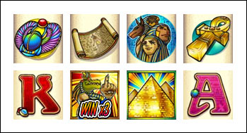 free Crocodopolis Slots slot game symbols
