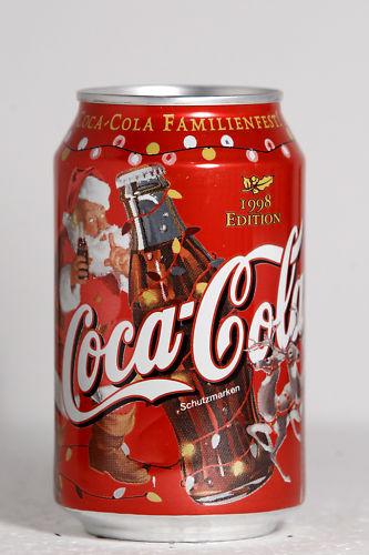 1998 Coca-Cola Austria Christmas by roitberg