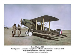 Australian Flying Corps in WW1 (Steve Given) Tags: afc rosssmith frankhurley bristolfighter australia