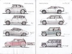IDC Freestyle Page 2 (Flaf) Tags: auto 6 colour water car vw pencil design sketch drawing 5 4 voiture renault porsche florian r4 ghia biro tatra karmann 924 r6 r5 automobil flaf v570 afflerbach idrawcars