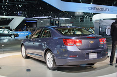 2013 Chevrolet Malibu (US preproduction)