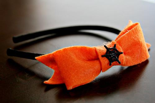 Spooky Felt Bow 10