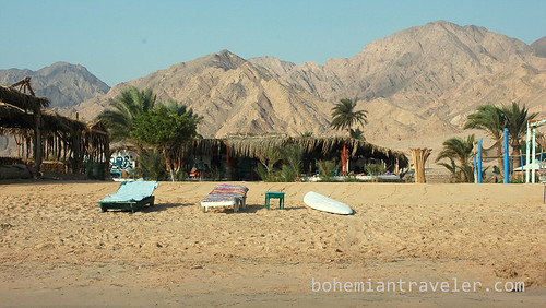 the beach at Tarabin Sinai