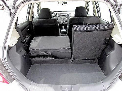 Nissan Versa Load Floor  Fuel Economy Hypermiling EcoModding