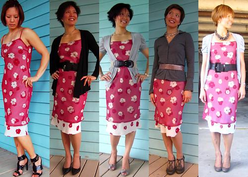 pink floral dress 01