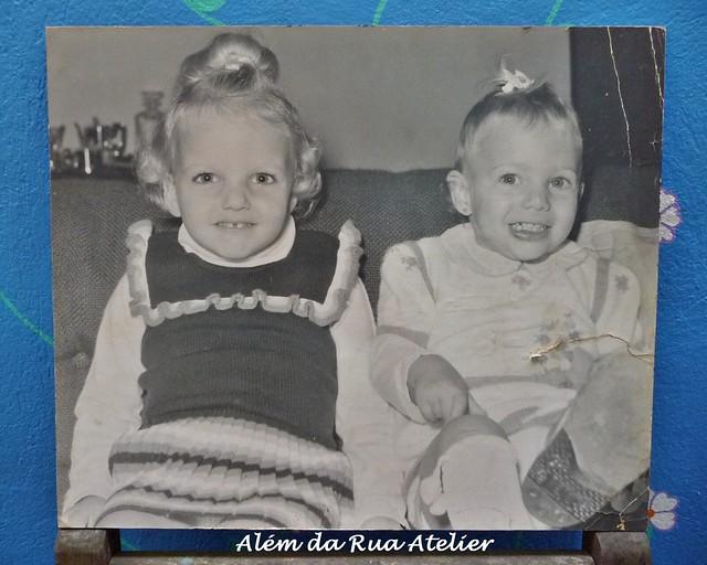 Eu e minha irmã
