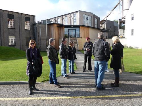 Tour Group at Macallan Distillery