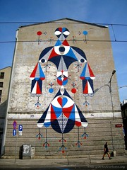 THE I BIRD (remed_art) Tags: wall mural poland lodz 2011 muralism remed