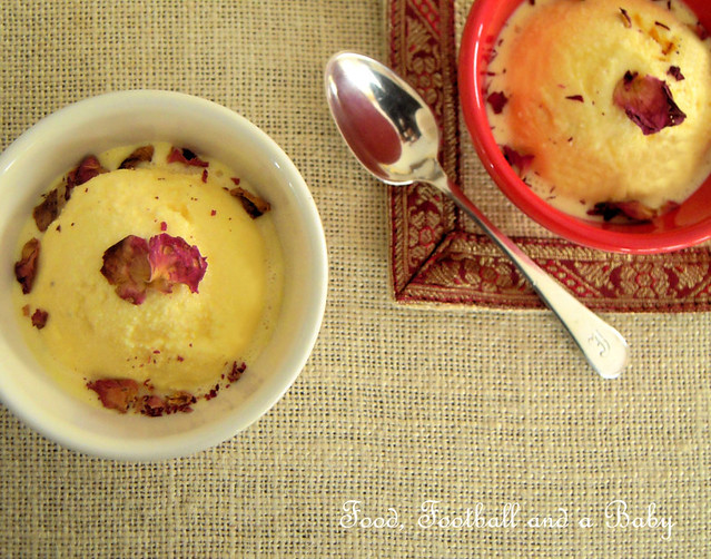 Saffron and Rosewater Kulfi  3