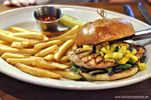 Mango Chicken Sandwich at Axel's Bonfire ~ St Paul, MN