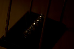 dutchangle Newton's Cradle (AlexCurtisPhotography) Tags: life macro alex closeup canon lens photography suffolk high still metallic quality balls sigma reflective curtis 550d kesgrave wwwalexcurtisphotographycouk
