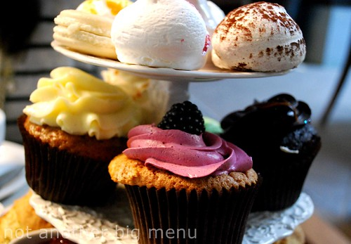 Bea's of Bloomsbury - Full Afternoon Tea £15 pperson - Cake selection