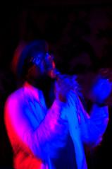 Ghostpoet (Peter Rea 13) Tags: manchester long exposure arty live gig wave institute photograph singer microphone deaf now ghostpoet