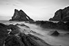 Bow fiddle Rock | Portknockie | Black and White (capturedcanvas.co.uk) Tags: ocean sea canon lens photography mono rocks moody wideangle 1740l chrissmith portknockie 450d leefilter bowfiddle bigstopper capturedcanvas