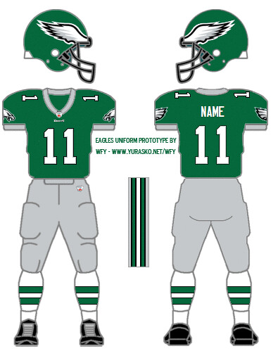 How I'd design the Eagles green uniform