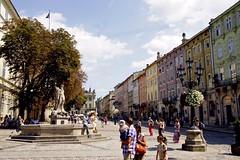 Lemberg; Rynek (blacky_hs) Tags: tour platz sightseeing lviv ukraine markt rathaus lvov rynek lemberg galizien lwow lwiw