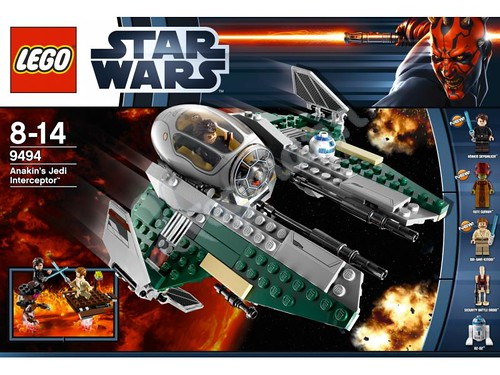 9494 Anakin's Jedi Interceptor - 1