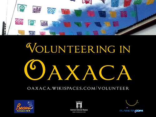 Volunteering in Oaxaca