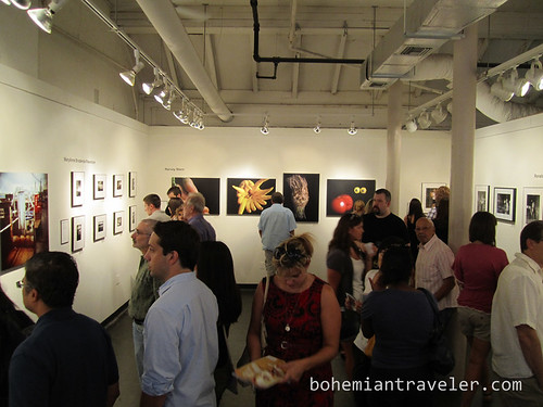 a First Friday gallery