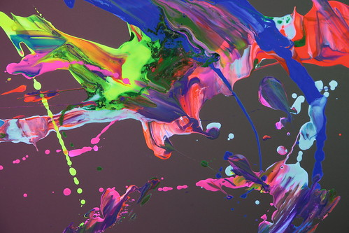 fluorescence view - study