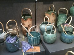 Yarn bowls by Sue Henshaw