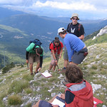 "Field work in the Sibillini<a href=""http://farm7.static.flickr.com/6107/6254076843_ee3d6f106e_o.jpg"" title=""High res"">∝</a>"