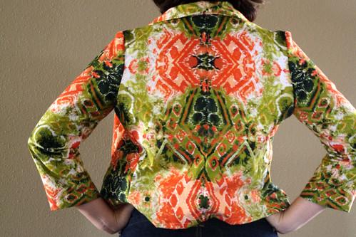 Crazy Print Jacket