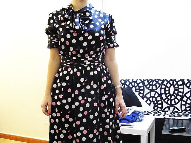 vestido DvF