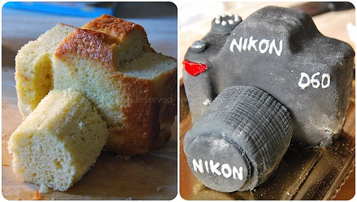 nikon cake prima e dopo