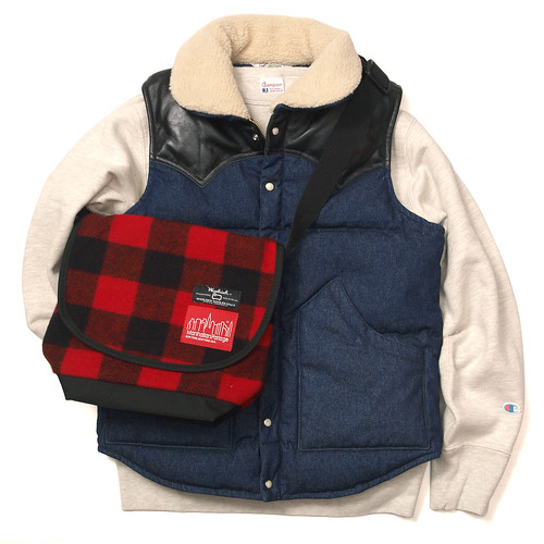 Five Brother / Denim Down Vest