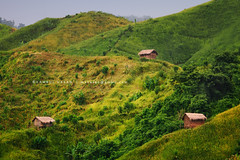 Happy Huts (Kamrul - Hasan) Tags: mountain green beautiful landscape country places pride hut hilly bangladesh mati amar desh rangamati canonef70200mmf28l my kaptai gettyimagesbangladeshq3