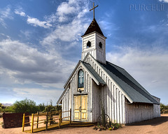 Elvis Presley Memorial Chapel (Jim Purcell) Tags: bridge summer arizona usa sunlight detail building art digital photoshop photography industrial afternoon pentax zoom cloudy fineart machine chapel az multipleexposure photograph summertime dslr movieset hdr highdynamicrange topaz lightroom artistry adjust edifice edifices placeofworship apachejunction photomechanic tonemapping photomatrix religiousbuilding denoise pinalcounty pentaxk5 smcpentaxda1650mm28edalifsdm smcpentaxda1650mm28ed