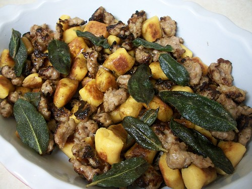 sweet potato gnocchi with brown butter and sage | miki's kitchen