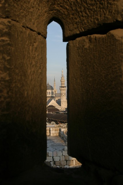 Umayyad Mosque through Arrowslit