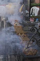 preparing kebab, Marrakech (Ren Mouton) Tags: street light urban dark licht steam grill kettle morocco maroc marrakech medina marrakesh rook kebab marokko eten damp stads morrocco straat stoom vlees voedsel ketel   marrki marrakesj marrku