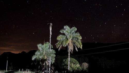 Céu estrelado da Canastra