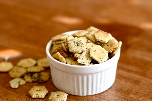 Dill Oyster crackers