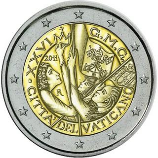 Oficiálne bal. 2 Euro Vatikán 2011, Svetový deň mládeže