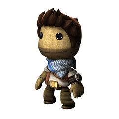 PS Move - LittleBigPlanet: Nathan Drake Costume (PlayStation.Blog) Tags: nathandrake uncharted3 lbp2 littlebigplanet2