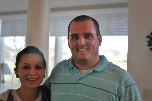 Kristin and Zach Oct 2011