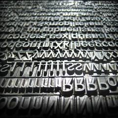 typo type (irasum) Tags: dof letters type letterpress typo letterpresstype typograrhy