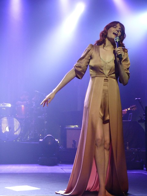 Florence and the Machine at Hackney Empire 25.10.11