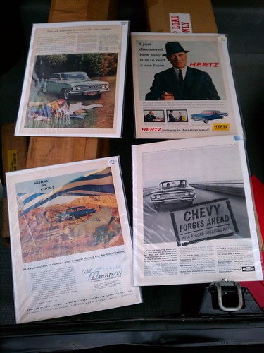 1960 Chevrolet Impala ads found in the
