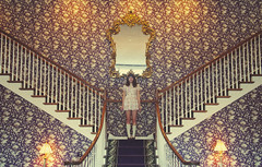 (yyellowbird) Tags: wallpaper girl hotel illinois lolita staircase normal cari