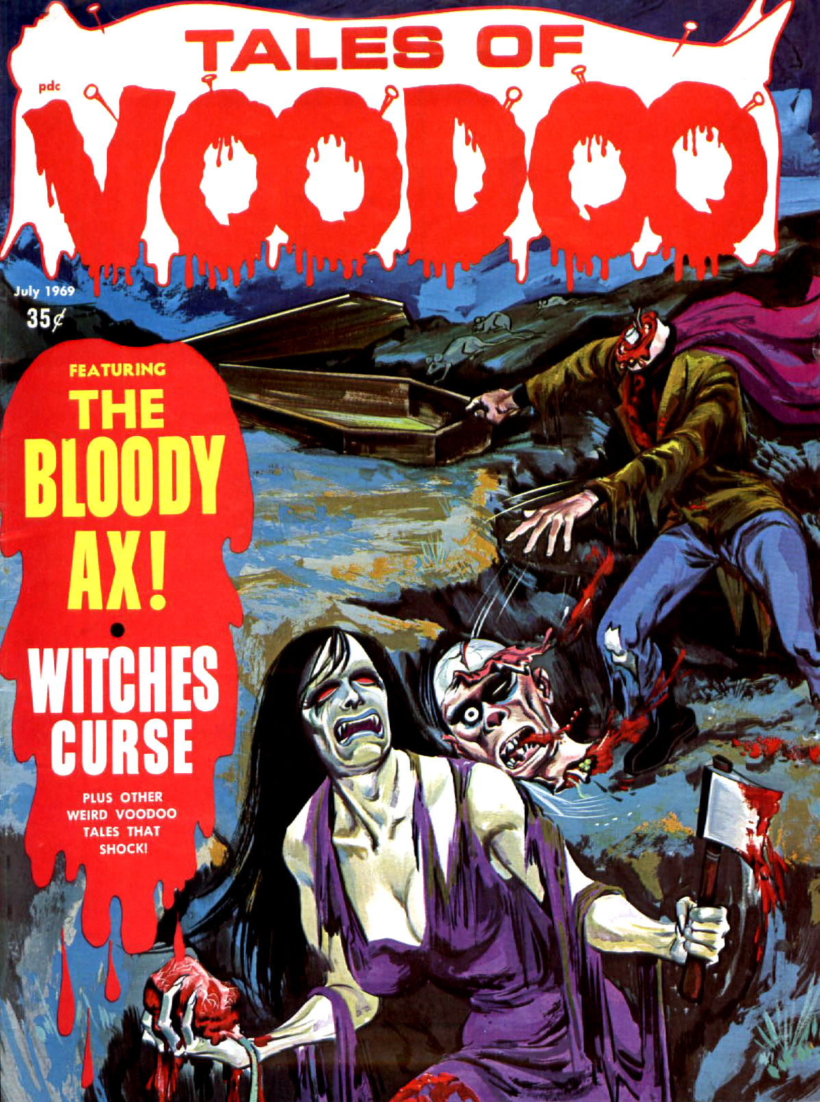 Tales of Voodoo Vol. 2 #3 (Eerie Publications 1969