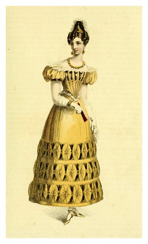 024-Vestido de baile 1828-The Repository of arts, literature, commerce, manufactures, fashions and politics 1809-1829- Ackermann Rudolph