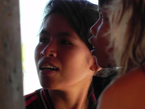 Lombok - Rambitan - indonésienne du village traditionnel des Sasaks